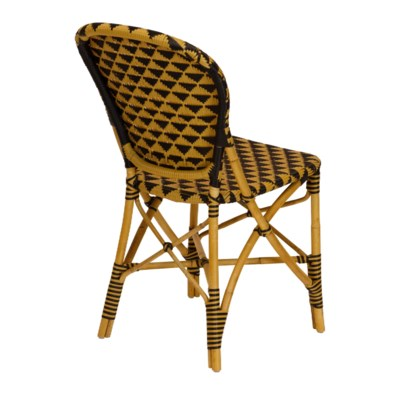 Pinnacles Side Chair in Natural/Black