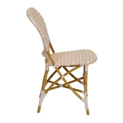 Pinnacles Side Chair in White/Blush