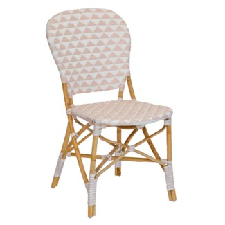 Pinnacles Side Chair - White/Blush
