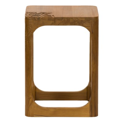 Pinnacles Side Table in Natural
