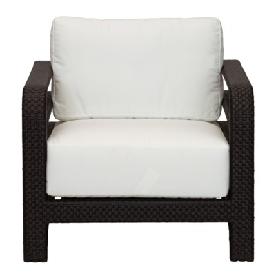 Reo Outdoor Lounge Chair in Espresso