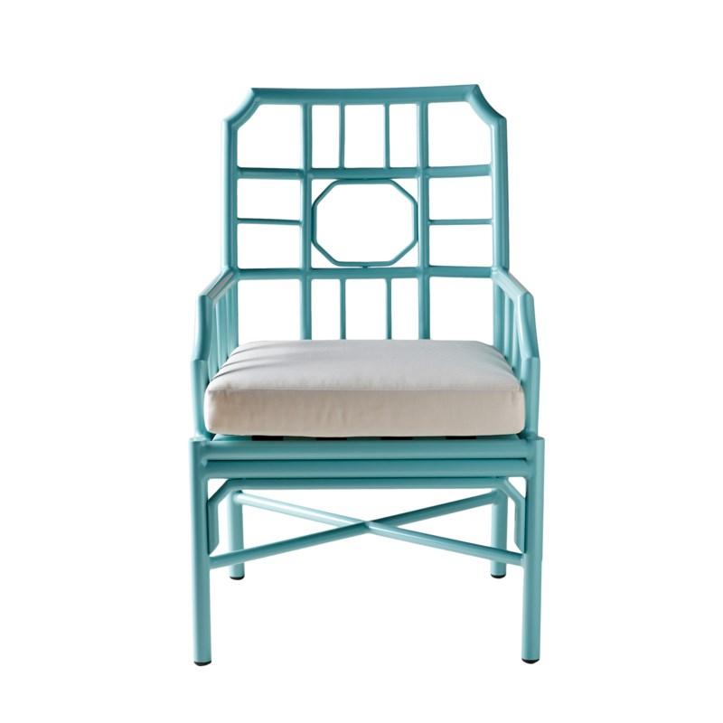 Regeant 4-Season Arm Chair in Blue