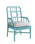 4-Season Regeant Arm Chair (Aluminum) w/ Cushion - Blue
