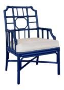Regeant Arm Chair - Blueberry