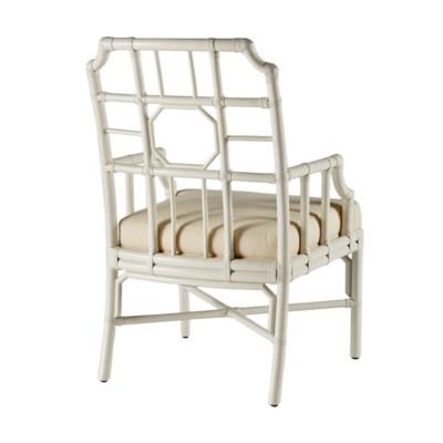 Regeant Arm Chair-White