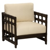Regeant Lounge Chair, Rattan - Clove