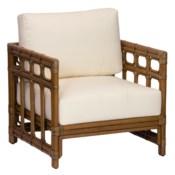 Regeant Lounge Chair, Rattan - Nutmeg