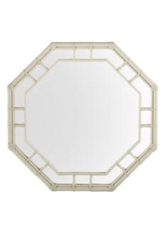 Regeant Octagonal Wall Mirror - White