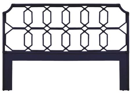 Regeant Queen Headboard - Blueberry