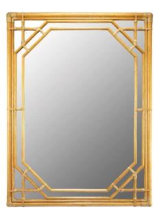 Regeant Rectangular Wall Mirror - Nutmeg