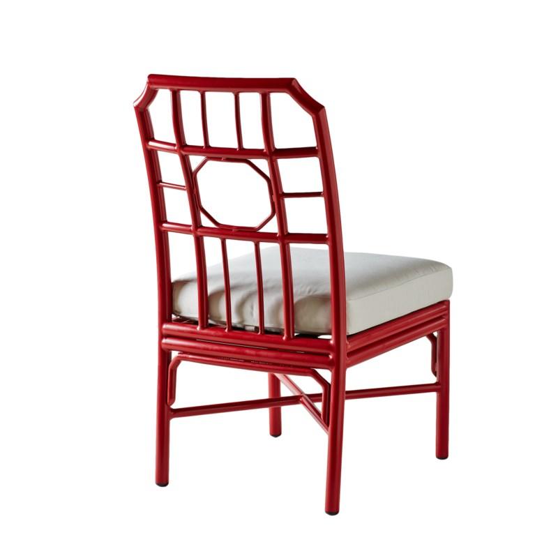 Regeant 4-Season Side Chair in Antique Red - LIQ