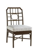 4-Season Regeant Side Chair (Aluminum) w/ Cushion - Bronze
