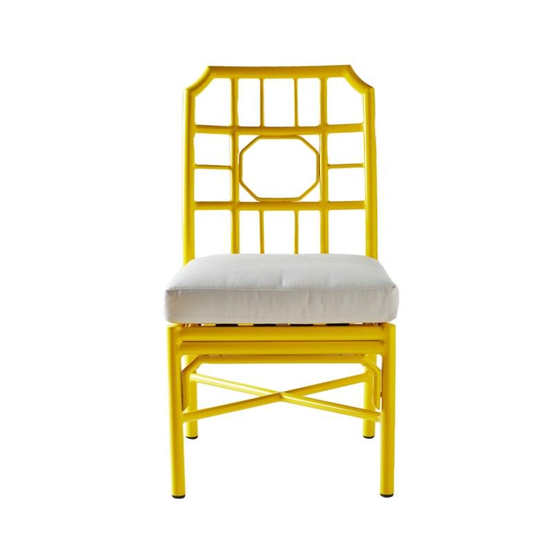 Regeant 4-Season Side Chair in Yellow