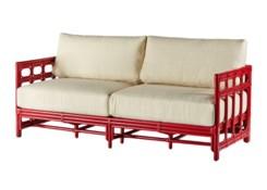 Regeant Sofa - Antique Red