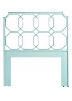 Regeant Twin Headboard - Light Blue