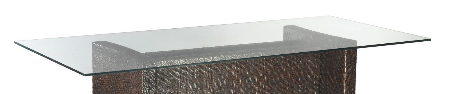 """Dining Table - Glass Top (44"""" x82"""" x12mm)"""