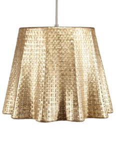 Seline Drapery Pendant Light - Metallic