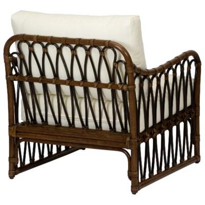 Sona Lounge Chair in Cinnamon/Espresso