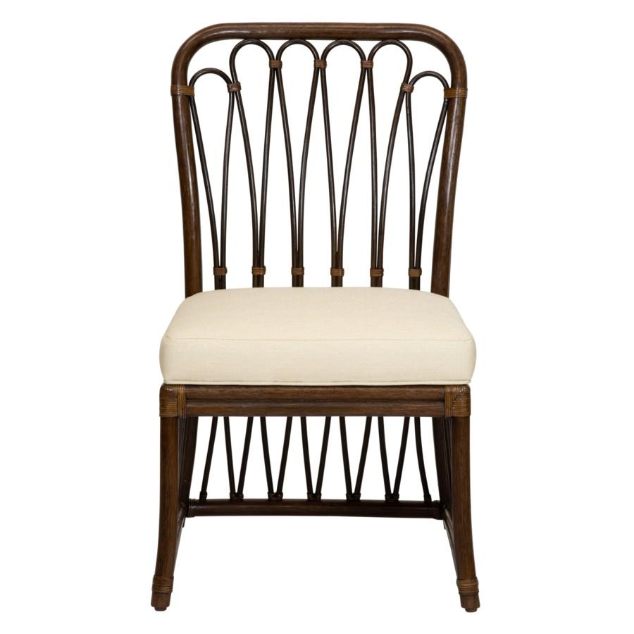 Sona Side Chair in Cinnamon/Espresso