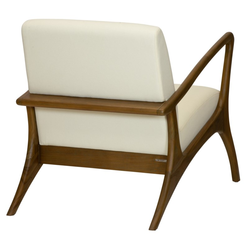 Soren Ventura Lounge Chair in Natural