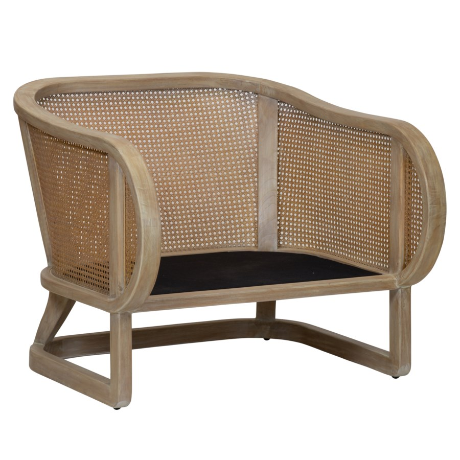 Stockholm Lounge Chair in Porcini