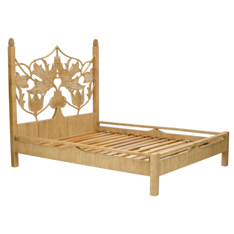 Artichoke Queen Bed in Natural