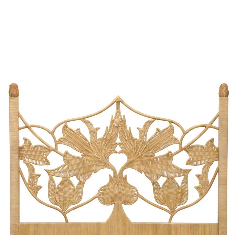 Artichoke Queen Bed in Natural