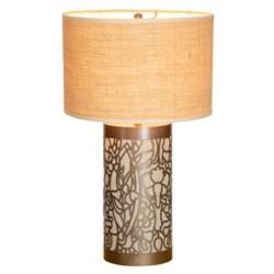Daffodil Lamp in Whitewashed
