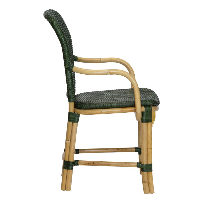 Fota Arm Chair in Green