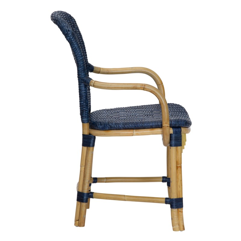 Fota Arm Chair in Navy