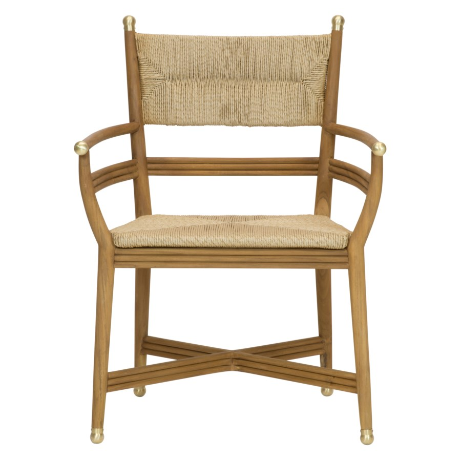 Kelmscott Rush Arm Chair in Natural