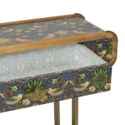 Strawberry Thief Console Table in Multi