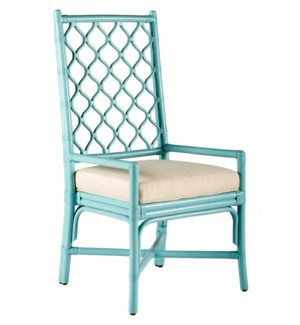 Ambrose Arm Chair in Blue