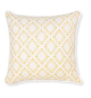 Amore Mustard Throw Pillow ADD INSERT PFF-18X18 - LIQ