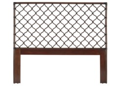 Ambrose Queen Headboard in Cinnamon