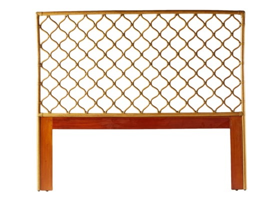 Ambrose Queen Headboard in Nutmeg