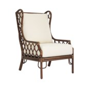 Ambrose Wing Chair in Cinnamon