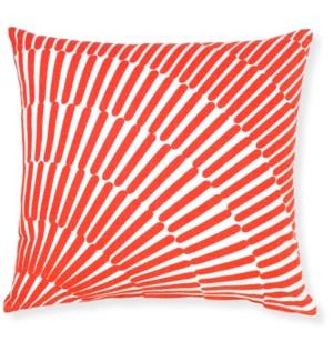 Array Red Throw Pillow ADD INSERT PFF20X20 - LIQ