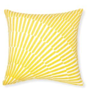 Array Yellow Throw Pillow ADD INSERT PFF20X20 - LIQ