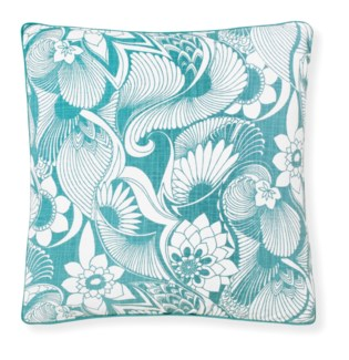 Florence Broadhurst Aubrey Marine Cushion 20x20