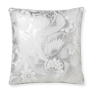 Florence Broadhurst Aubrey Silver Cushion 20x20