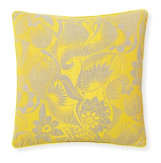 Florence Broadhurst Aubrey Sunshine Cushion 20x20