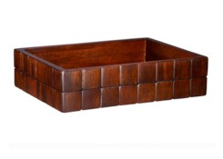 Barclay Amenities Tray in Mahogany