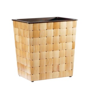 Barclay Wastebasket in Pine