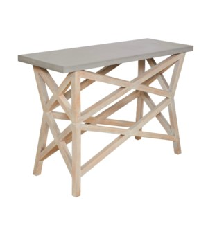 Bridge Console Top in Cement
