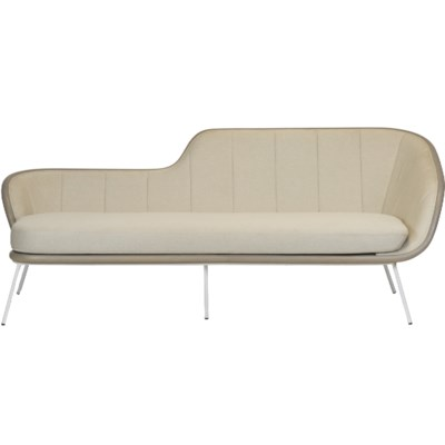 Bend Sofa in Grey Fabric
