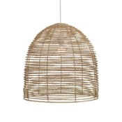 Beehive Chandelier in Natural