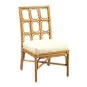 Brighton Side Chair in Nutmeg ADD CUSHION BRSCCS-MAC
