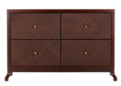 Caprice Four Drawer Cabinet in Hazelnut