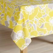 Rapee Cabana Hibiscus Zest Tablecloth 300cm